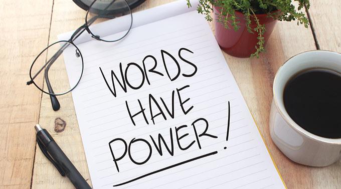 Words have power - Rhetorik